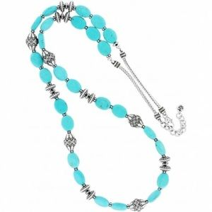 BRIGHTON Santa Fe Turquoise Long Bead Necklace